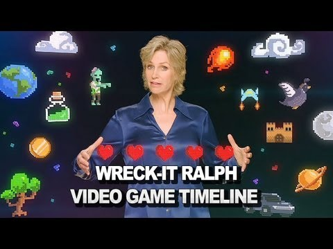 Wreck-It Ralph - Jane Lynch Video Game Timeline