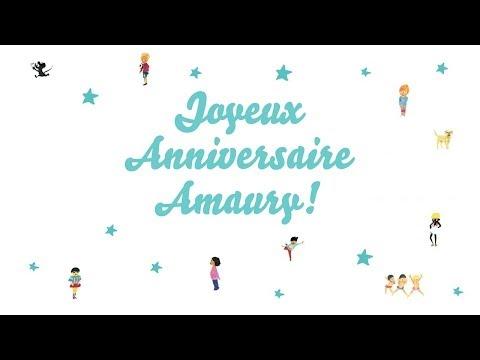 Joyeux anniversaire amaury youtube - Amaury prenom ...