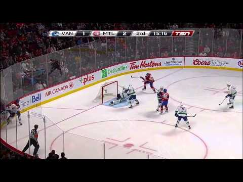 Max Pacioretty Hat Trick - Montreal Canadiens - February 7 2014