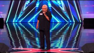 America's Got Talent 2014 Auditions Frank The Singer