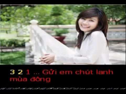 GUI EM   Tho MANH DAI   Pho nhac HAI ANH Karaoke khong loi
