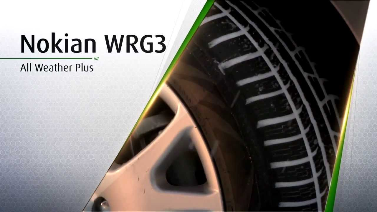 Best All Weather Tires >> Nokian WRG3 Infomercial - YouTube