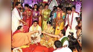 Raadhika Sarathkumar's daughter Rayane marries cricketer A..