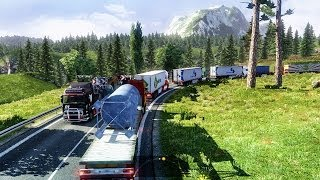 Euro Truck Simulator 2 Multiplayer Long Convoy Turkey