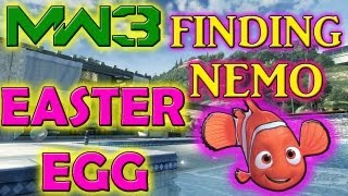 "MW3: ""Finding Nemo EASTER EGG"" On GETAWAY (UNLOCK TUTORIAL"