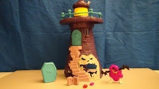 SCOOBY-DOO CRYSTAL COVE FRIGHTHOUSE PLAYSET VIDEO TOY REVIEW