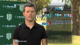 "Nicolás Domingo: ""Mis 11 ideales"". Banfield. Fecha 2. ."