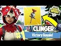 NEW CLINGER 1 VICTORY ROYALE COMING SOON FORTNITE BATTLE ROYALE