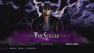 WWE 2K14 DEFEND THE STREAK THE AMERICAN BADASS