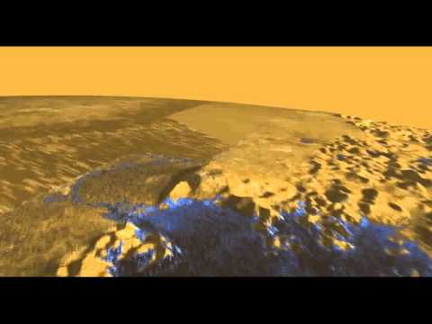 Space Tour the Strange Lakes of Saturns Moon Titan   Video