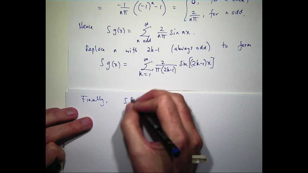 fourier series tutorial The continuous time fourier transform continuous fourier equation the fourier transform is defined by the equation and the inverse is these equations allow us to see what frequencies exist in the signal x(t.