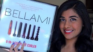 Review: Bellami 6-in-1 Curling Wand Set & Runway Flat Iron!