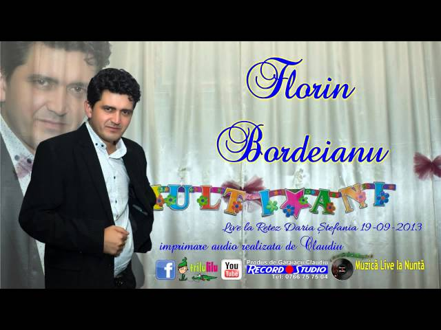 Florin Bordeianu - Daca ai noroc, minte si bani LIVE AUDIO Claudiu Record Studio Rovinari