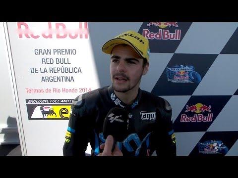 Moto3™ Argentina 2014 -- Romano Fenati interview
