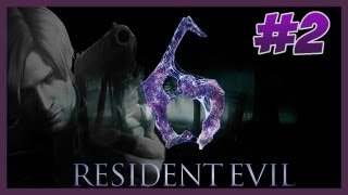 Resident Evil 6 ★2 LEON Capitulo 1 Part 2 PT-BR