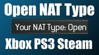 How To Get An Open NAT Type On Xbox 360: Port Forwarding