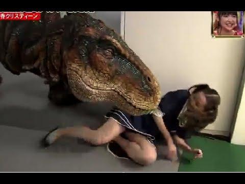 Japanese Dinosaur Prank Part 3