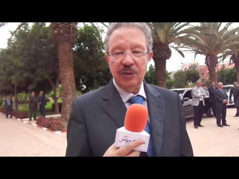 جريدة صوت سوس في لقاء حصري مع المندوب السامي للتخطيط السيد أحمد الحليمي بمدينة بيوكرى