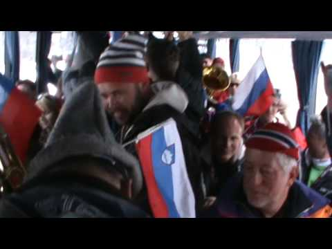 Planica 2010: the craziest bus party in the world!