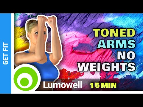 Arms Workout No Weights - At Home