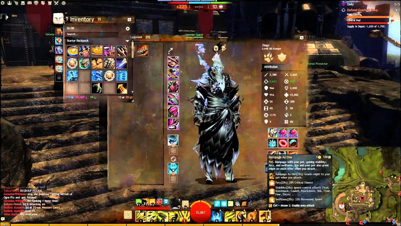 Guild Wars  Warrior Build Pvp Greatsword
