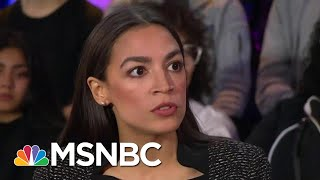 Alexandria Ocasio-Cortez On What Makes Her Different From President Donald Trump | All In | MSNBC