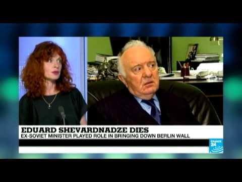 Eduard Shevardnadze dies