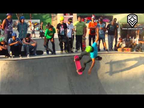 Zona Skate Venezuela - gira en patineta 2012 - skate park Caricuao.mpg