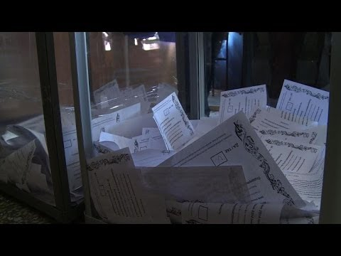 Rebels in east Ukraine claim landslide vote for independence