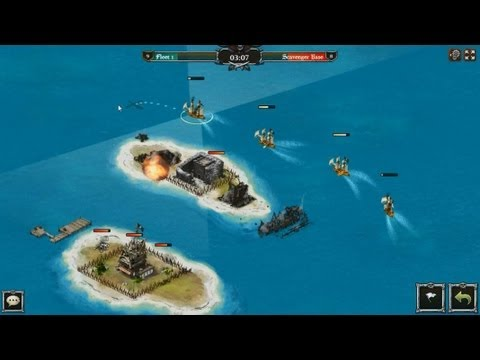 Pirates of the Caribbean Isles of War - gameplay