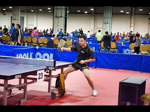 Amayzlin - Table Tennis - Amazing Backhand Shot