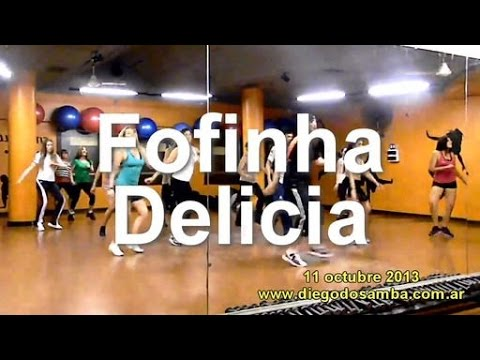 Sorriso Maroto - Fofinha Delicia - Coreografia Diego do sambA