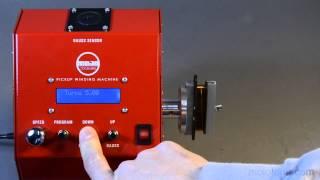 Watch the Trade Secrets Video, Mojotone Pickup Winder Demo