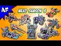Every Lego Nexo Knights Season 3 Sets Complete Collection