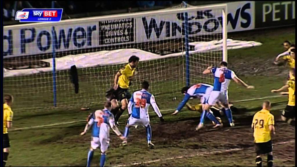Bristol Rovers 2-0 Burton Albion