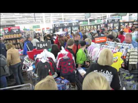 Black Friday Total Disaster, Chaos at Walmart