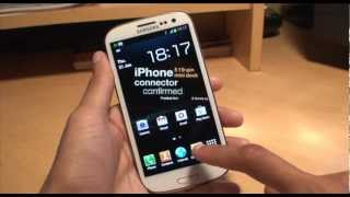 Samsung Galaxy S3: Set Your Own Music (MP3) As Custom
