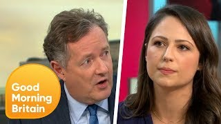 Piers Morgan and Corrie's Nicola Thorp Go Head-to-Head in Heated Sexism Row   Good Morning Britain
