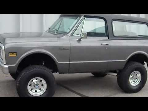 1972 Chevrolet K5 Blazer 4x4 Restored Lifted Truck