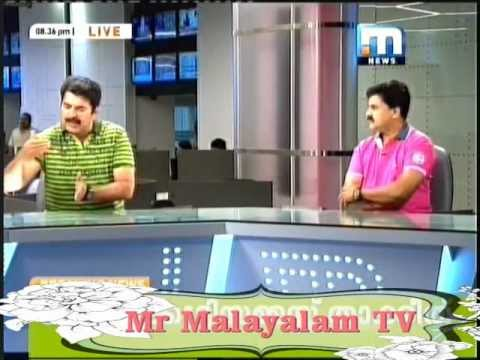 Mammootty as role in news reader in Mathrubhumi news e buz.
