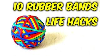 Rubber Bands Life Hacks
