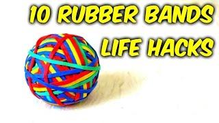 Rubber Bands Life Hacks
