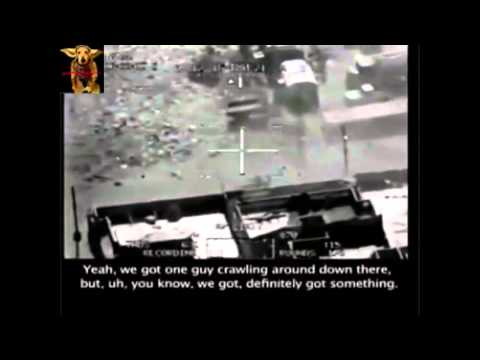Real Drone Strike Footage