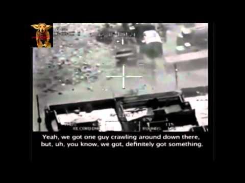 Real Drone Strike Footage