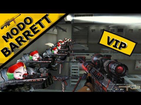 CrossFire AL - MODO BARRETT VIP