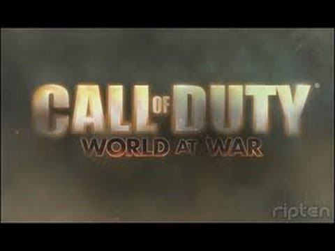 "Pazaiskime Call of Duty - World at War ""nekokia pradzia"""