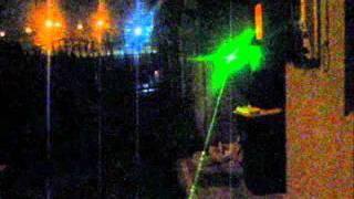Laser Verde Uso Astronómico De 200mW Para Indicar