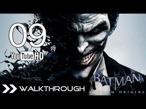 Batman Arkham Origins Walkthrough - Gameplay Part 9 (Apprehend the Joker - Steel Mill) HD 1080p PC PS3 Xbox 360 Wii U No Commentary