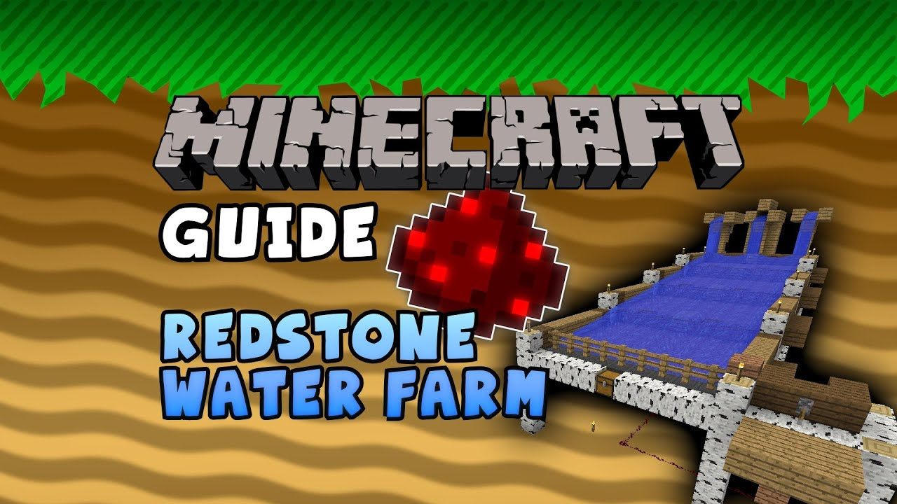 how to build a redstone farm