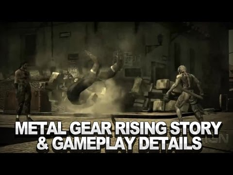 Metal Gear Rising Story & Gameplay Details
